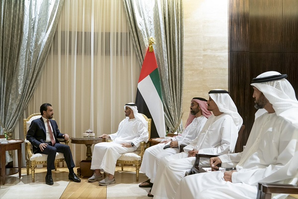 Speaker of the House of Representatives meets Sheikh Mohammed bin Zayed 20990619_AR_1559914405_D8dKrr-W4AARC_d
