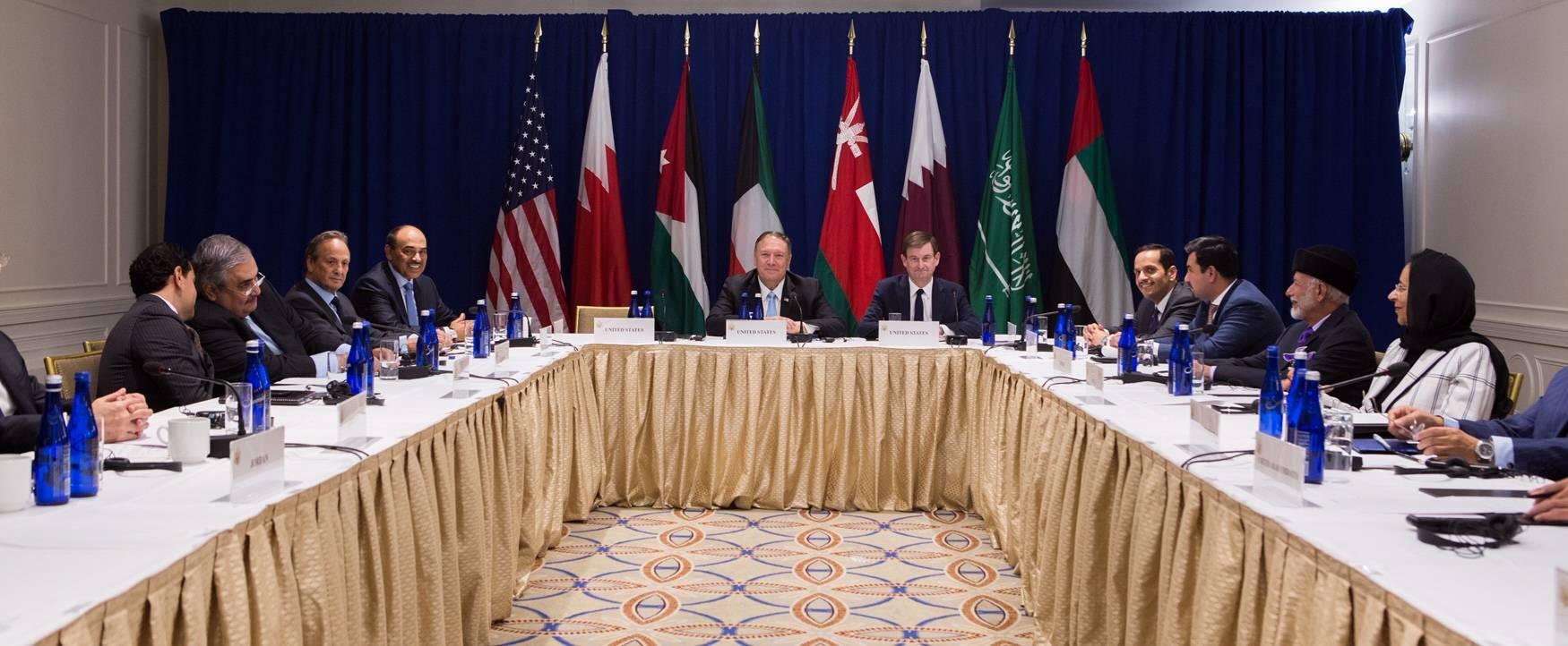 Holding an Iraqi-Jordanian-Egyptian tripartite summit in America 21033062_AR_1569399332_00000