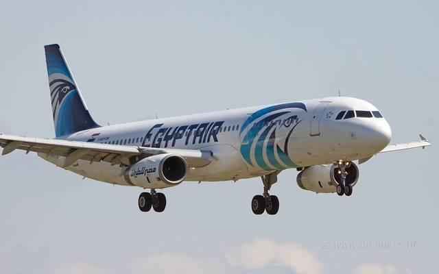 أحدي طائرات شركة مصر للطيران
