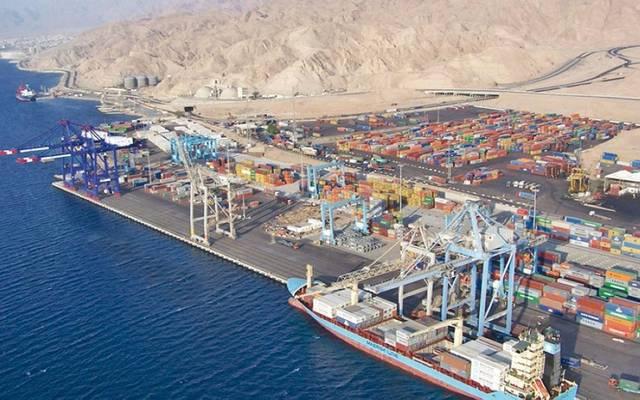 ميناء العقبة في الأردن
