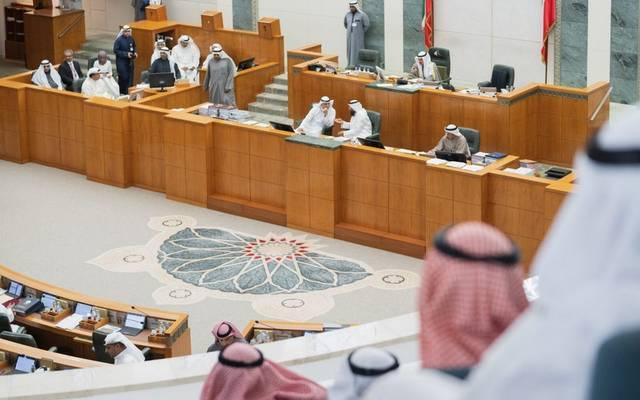 من داخل جلسة مجلس الأمة الكويتي المُنعقدة اليوم