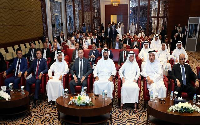 جانب من ملتقى الأعمال الإماراتي القيرغيزي