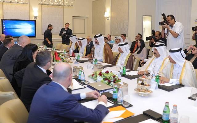 جانب من اجتماع غرفة قطر ورئيس الوزراء الألباني