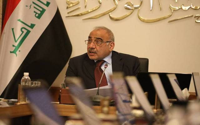 Abdul Mahdi discusses the resignation of the Iraqi government with the House of Representatives