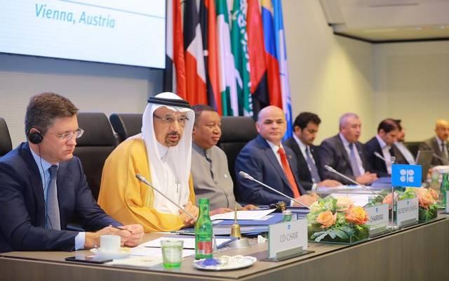 وزير الطاقة السعودي على هامش اجتماع المنتجين في فيينا اليوم