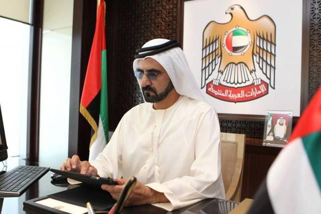 الشيخ محمد بن راشد آل مكتوم، نائب رئيس الإمارات، رئيس مجلس الوزراء