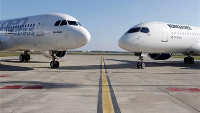 طائرات بونيج وإيرباص
