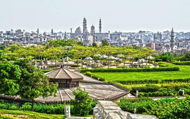 حديقة الأزهر في مصر - أرشيفية