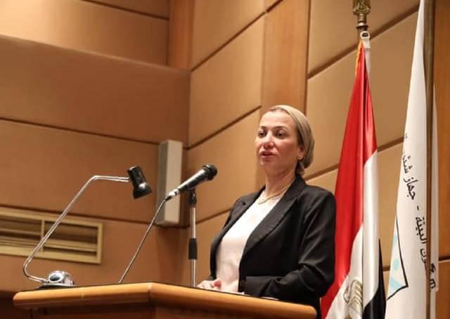 ياسمين فؤاد وزيرة البيئة