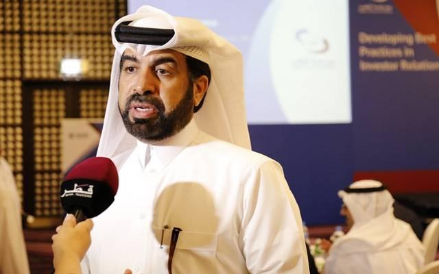 راشد المنصوري الرئيس التنفيذي لبورصة قطر