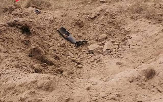 مقذوف عسكري أطلقته ميليشيا الحوثي يسقط قرب مستشفى الحرث العام