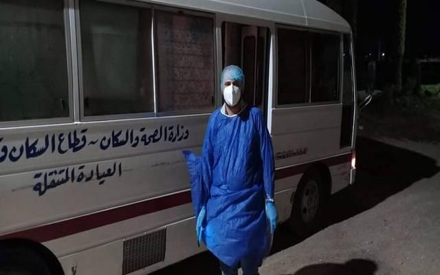 صورة للعيادات المتنقلة في مصر