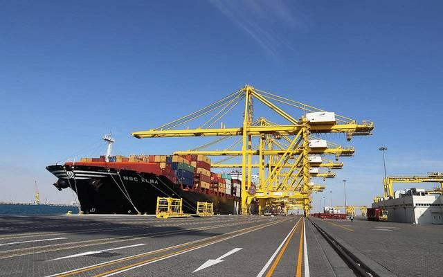 الصورة من ميناء حمد الدولي