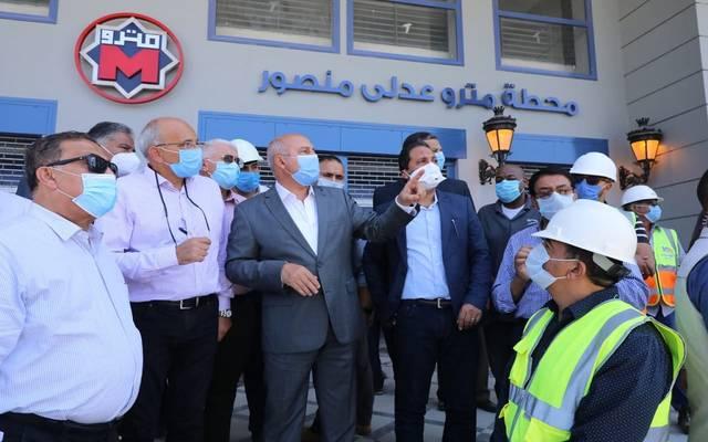 النقل المصرية تستعد لافتتاح محطات المرحلة الرابعة للخط الثالث للمترو خلال أيام