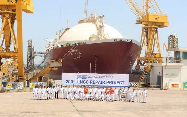 الصورة من الموقع الإلكتروني لشركة قطر لنقل الغاز المحدودة
