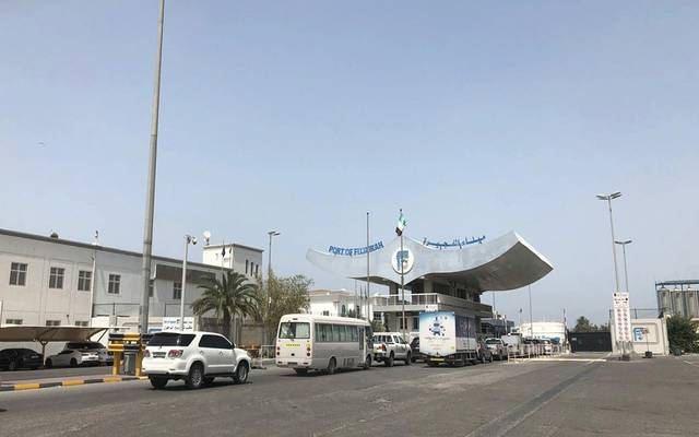 ميناء الفجيرة بدولة الإمارات