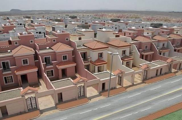 """وحدات سكنية تابعة لبرنامج """"سكني"""""""