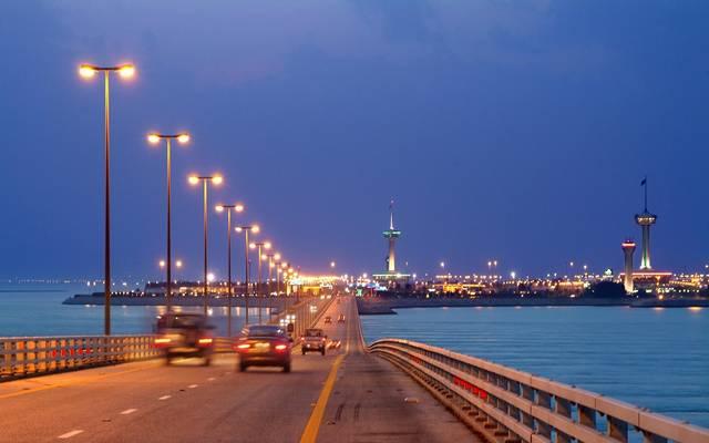 جسر الملك فهد الرابط بين السعودية والبحرين
