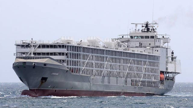 سفينة تابعة لشركة الخليج للملاحة