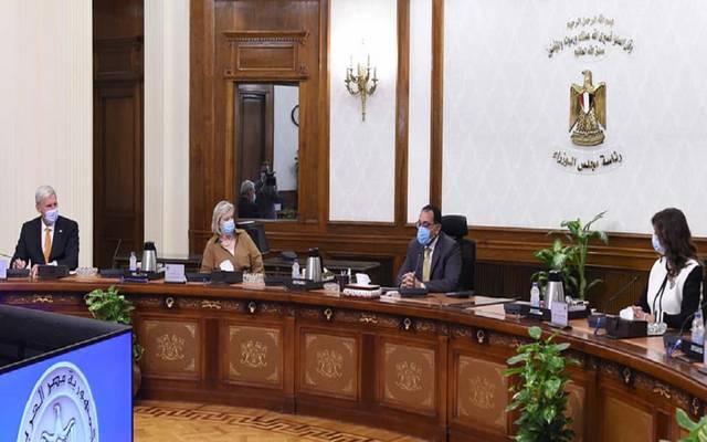 خلال اجتماع عقده مصطفي مدبولي، مع أنكى بروكرز كنول، وزيرة الدولة الهولندية للهجرة