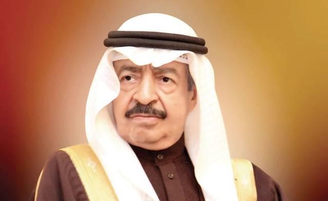 صورة أرشيفية لرئيس وزراء البحرين