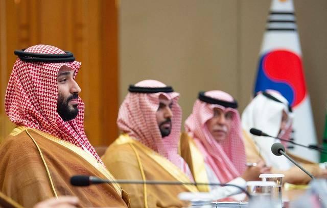 جانب من زيارة ولي العهد السعودي الأمير محمد بن سلمان بن عبدالعزيز إلى كوريا الجنوبية