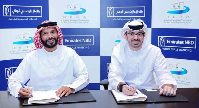 Emirates NBD's Al Qassim & RERA's bin Ghalita