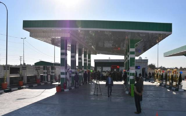 محطة وقود بالعراق