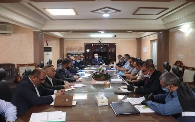 اللجنة المركزية للتسويق في الشركة العامة لتجارة الحبوب تناقش آليات استلام الحنطة المحلية المسوقة في المحافظات