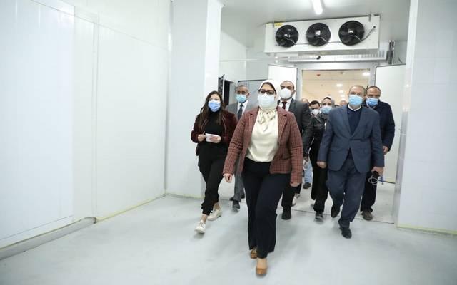 وزيرة الصحة المصرية - أرشيفية