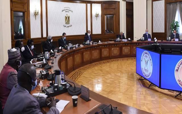 رئيس الوزراء يستقبل وفد منظمة المدن والحكومات المحلية الأفريقية