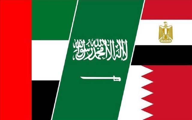 التقى وزراء خارجية الدول الأربع على هامش اجتماع وزراء الخارجية العرب  في الرياض اليوم الخميس