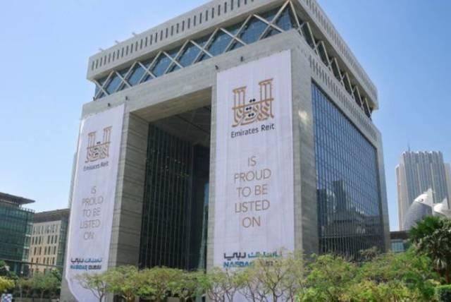 """لاقتة تحمل شعار""""الإمارات ريت""""، الصورة أرشيفية"""
