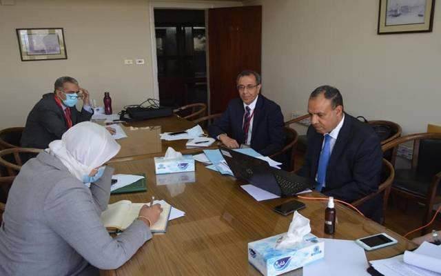 الجانب المصري خلال الاجتماع