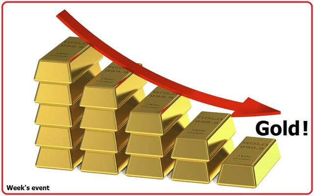 حدث الأسبوع.. الذهب يتعرض لخسائر فادحة مع قوة الدولار والأسهم