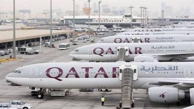 أسطول طائرات تابع لمجموعة الخطوط الجوية القطرية