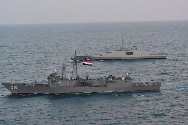 تدريب بحري مشترك بين مصر وفرنسا في البحر المتوسط