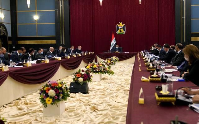 رئيس مجلس الوزراء، مصطفى الكاظمي، يترأس جلسة مجلس الوزراء المنعقدة في محافظة البصرة