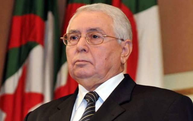 الرئيس المؤقت عبد القادر بن صالح