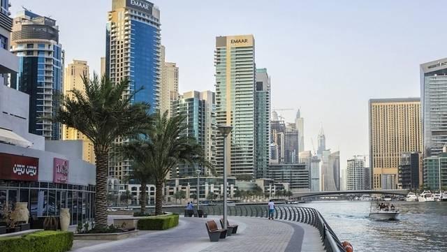إحدى المناطق السياحية بإمارة دبي