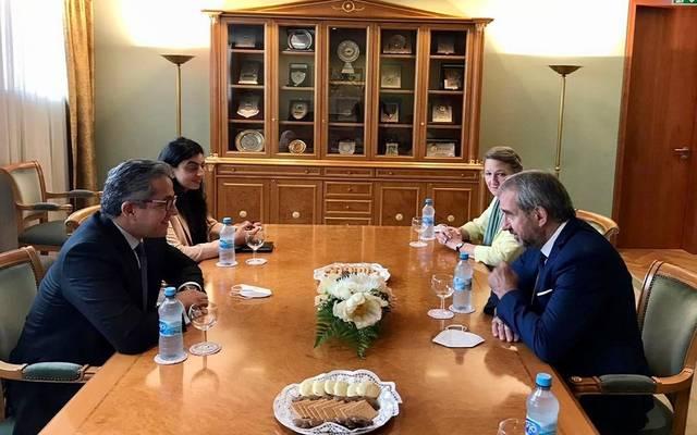 وزير السياحة يناقش تطوير المتحف المصري بالتحرير والمتحف الأتوني مع رئيس مؤسسة التراث الثقافي البروسي