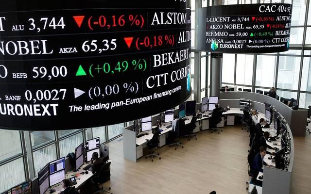 محدث.. الأسهم الأوروبية تهبط عند الإغلاق مع التوترات الجيوسياسية