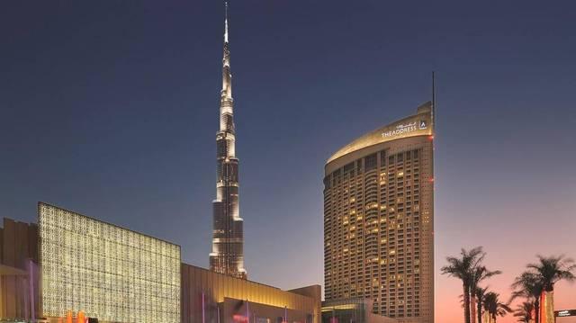 أحد الفنادق الكبرى بإمارة دبي، الصورة أرشيفية
