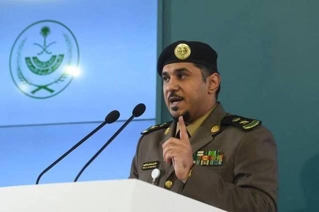المتحدث الأمني باسم وزارة الداخلية السعودية المقدم طلال الشلهوب