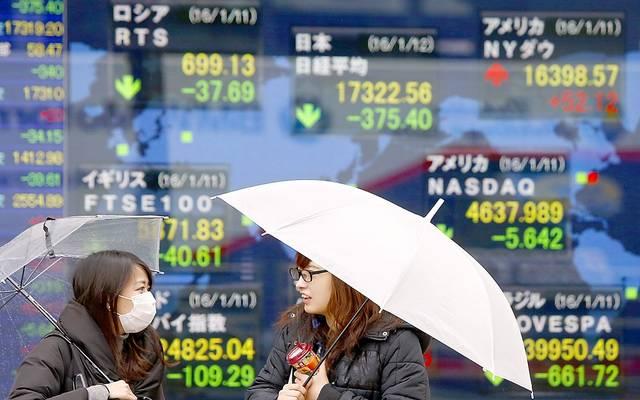 الأسهم اليابانية تتراجع بالختام مع قوة الين