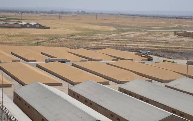 مخازن الحنطة المسوقة في العراق