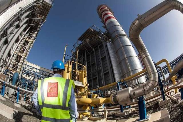 أحد مشاريع طاقة الإماراتية