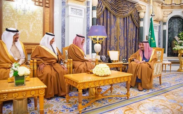 الوزراء الجدد يؤدون القسم أمام خادم الحرمين الشريفين، الملك سلمان بن عبدالعزيز آل سعود