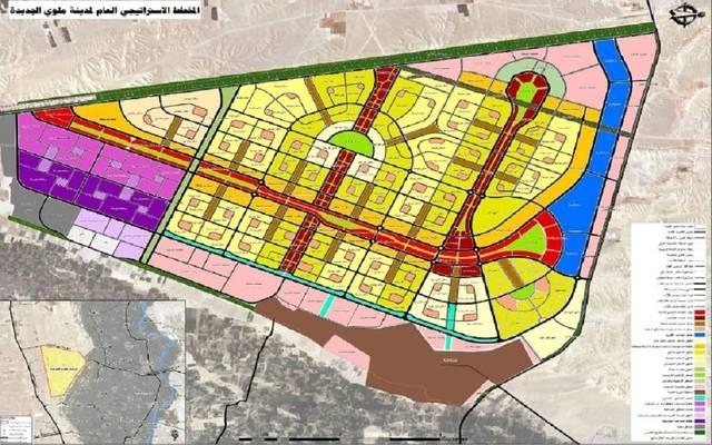 المخطط العام لمدينة ملوي الجديدة