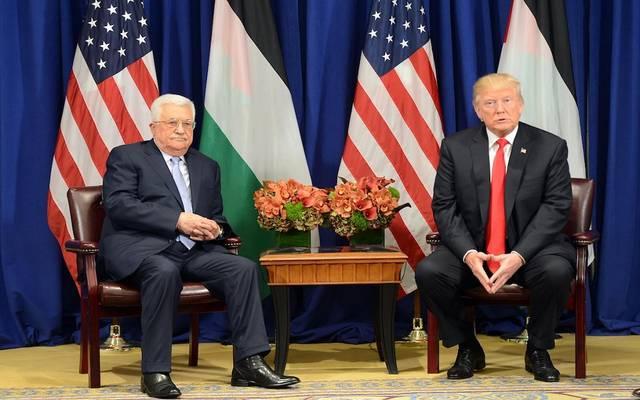 الرئيس الأمريكي ونظيره الفلسطيني - أرشيفية